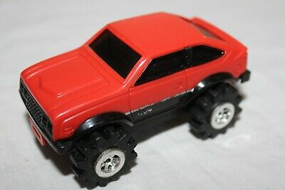 Stompers Red Car Sx/4 ? Vintage 1980S  Working Great W/ Lights Really Nice