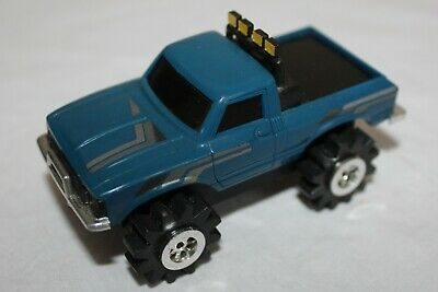 Stompers Blue Toyota Truck  Vintage 1980S  Working Great W/ Lights