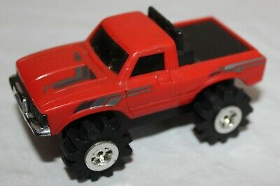 Stompers Red Toyota Truck  Vintage 1980S  Working Great W/ Lights