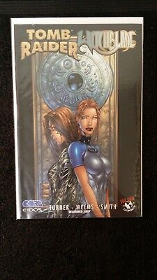 1997 Top Cow Comics Tomb Raider Witchblade Special #1  Variant Vf- Flat Rate S/h