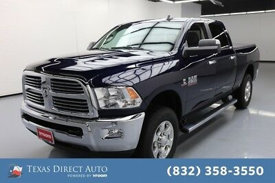 2016 Ram 2500 Big Horn Texas Direct Auto 2016 Big Horn Used Turbo 6.7L I6 24V Automatic 4WD Pickup