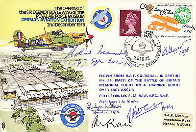C41 RAF cover signed BEAMONT, LEWIS, MRAF SLESSOR, AM CURTIS, Air Cdre CLAPPEN