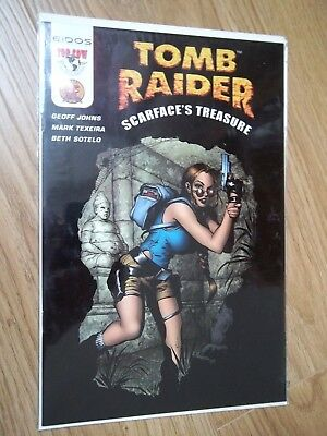 Tomb Raider Scarface's Treasure DF Dynamic Forces Top Cow Image comics