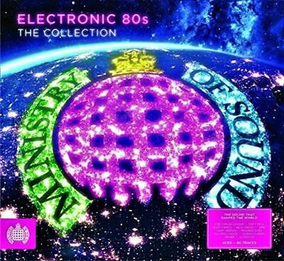 ELECTRONIC 80s - THE COLLECTION - MINISTRY OF SOUND - VARIOUS ARTISTS (NEW 4CD)