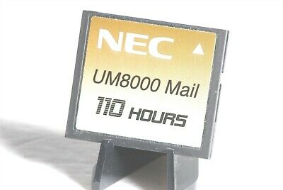 NEC UM8000 Mail 110 Hours 2GB CF Compact Flash Memory Card