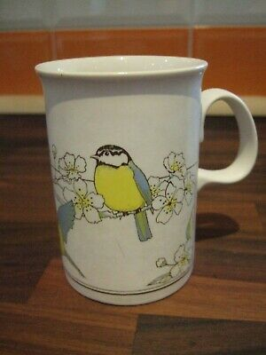 Collectable & Rare Dunoon Mug - Blue Tits Design