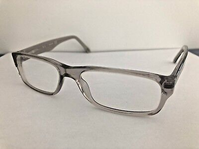 a64d748431dc0 AUTHENTIC RAY-BAN RX5255 Womens Black On Transparent Eyeglass Frames ...