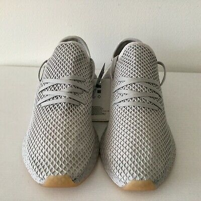 ff6a2435c0713 NEW ADIDAS DEERUPT Runner Shoes Light Grey Mens Size10.5 -  70.00 ...
