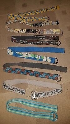 Selection Of Boys Belts. Approx age 3-7