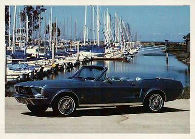Ford Mustang 1967, Dream Cars Trading Card, Automobile --- Not Postcard
