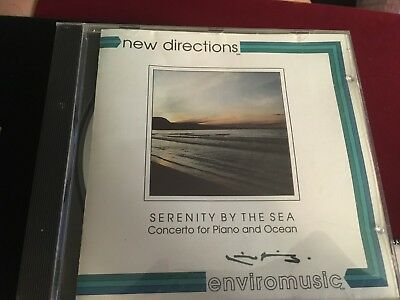 Music CD Compact Disc New Directions Serenity By the Sea Piano Ocean