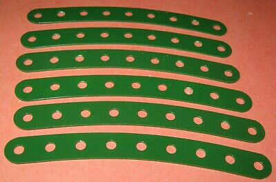 """Meccano Compatible Used Parts Curved Strips 4-1/2"""""""