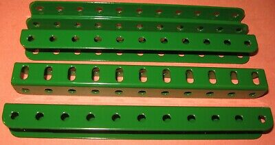 """Meccano Compatible Used Parts Angle Girders 'u' Section 5-1/2"""""""
