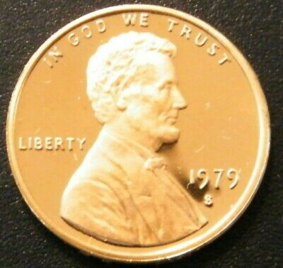 1979 S Lincoln Penny Proof Type 2 from US Mint set #4