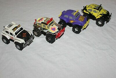 Stompers 4 Bug Lot From The 1990S-Early 2000 Working Great Really Nice