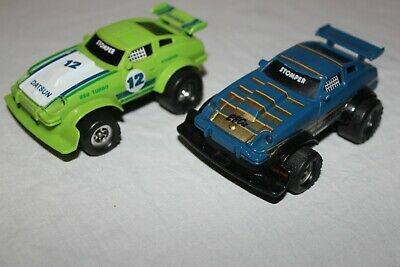 Stompers Lot Of 2 Datsun & 280 Z Race Cars From The 1980S? Working Great