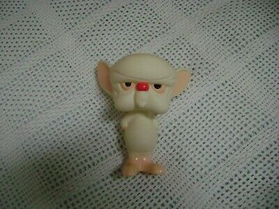 """1996 TM & W.B. Pinky and The Brain Toy Figure """"The Brain"""""""