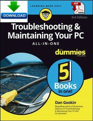 Troubleshooting and Maintaining your PC for dummies - Read on PC - PDF DOWNLOAD