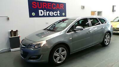 2013 Vauxhall Astra 1.7CDTi 16v (130ps) SRi Estate FSH ** ONLY £30Yr Road TAX **