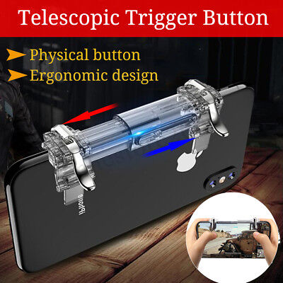 Telescopic Fire Button Trigger Handle Shooter Controller For PUBG Phone Gaming