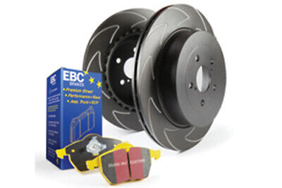 EBC Brakes Yellowstuff Pad and BSD Slotted Disc Kit [PD18KR019]