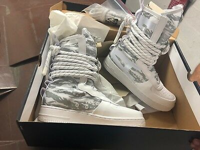 detailed look 14b36 7591f Chaussure, Nike AIR FORCE 1 HI PRM, homme, taille 9, white,