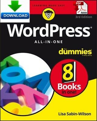 WordPress All in One For Dummies - Read on PC, Phone or Tablet Fast PDF DOWNLOAD