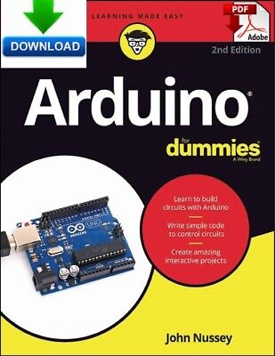 Arduino For Dummies -  read on PC, PHONE or TABLET - Fast PDF DOWNLOAD