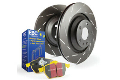 EBC Brakes Yellowstuff Pad and USR Slotted Disc Kit [PD08KR145]