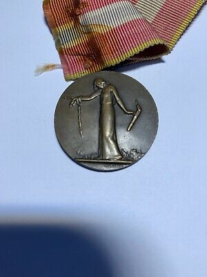 french medal for civilian deportees during the great war 1914-1918