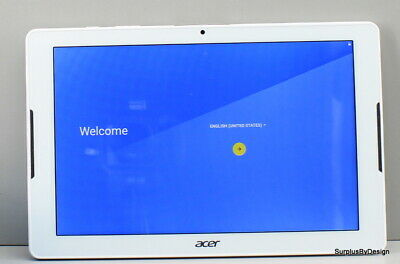"Acer Iconia One 10 B3-A30_2Cww_332T 10.1"" 16 GB White Android Tablet"