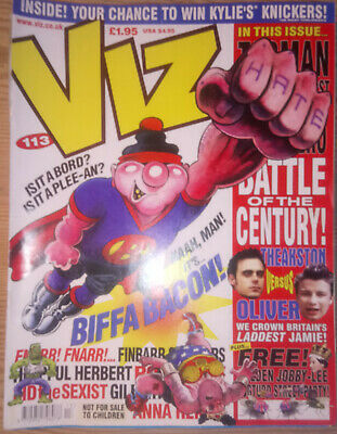 VIZ COMIC    No 113   MARCH 2002