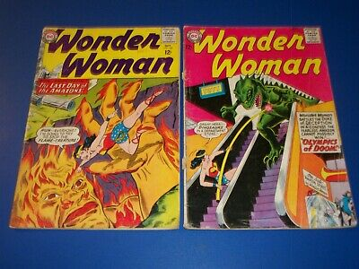 Wonder Woman #148,149 Silver age lot of 2 low graders