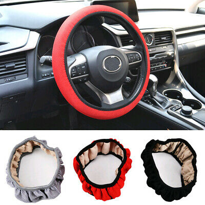 Elastic Universal Car Auto Steering Wheel Cover Non Slip Accessory 38cm/15inch