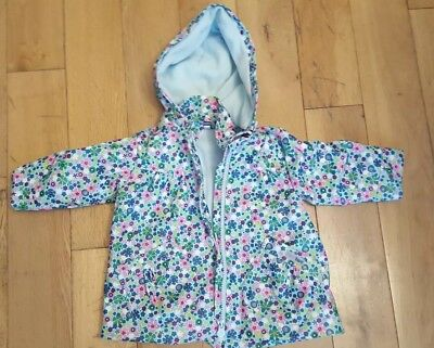 Tuc Tuc child's fleece lined jacket size 12 months