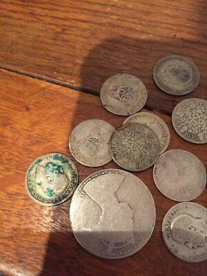 Scrap silver coins 925 and 500 46.9 grams