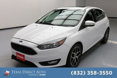 2017 Ford Focus SEL Texas Direct Auto 2017 SEL Used 2L I4 16V Automatic FWD Hatchback Premium