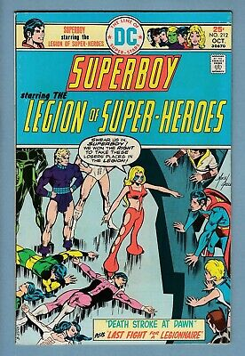 SUPERBOY #'s 212 to 220  Avg VFN (8.0) HIGH GRADE CENTS RUN- LOSH- 60% OFF GUIDE