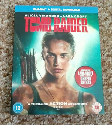 Tomb Raider (Blu-Ray, 2018) Alicia Vikander, ABC