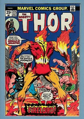 THOR # 225 VFN+ (8.5) 1st APPEARANCE of FIRELORD- LOVELY HIGH GRADE US CENTS KEY