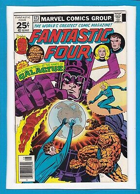 """Fantastic Four #173_August 1976_Very Fine_""""at The Hands Of Galactus""""_Bronze Age!"""