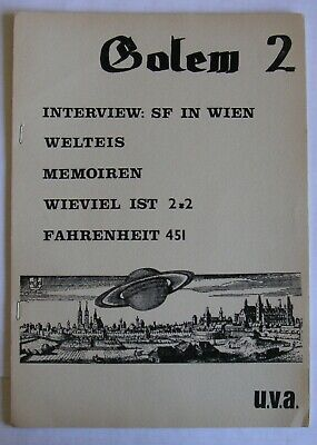 Sf-Fanzine - Golem 2 - Top Z 2+ !