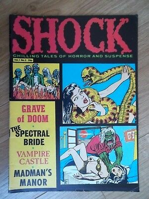 SHOCK #2 1979 Chilling Tales of Horror and Suspense British Comic Book