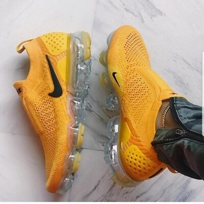 brand new 6f58b 5167d NIKE AIR VAPORMAX 2 Flyknit 2 MOC 2 Yellow