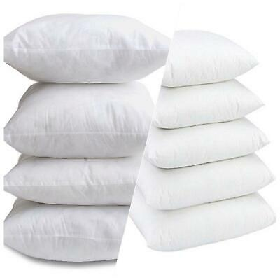 Pack of 2 4 6 Extra Deep Filled 16X16 Inches Cushion Pads Inserts Fillers
