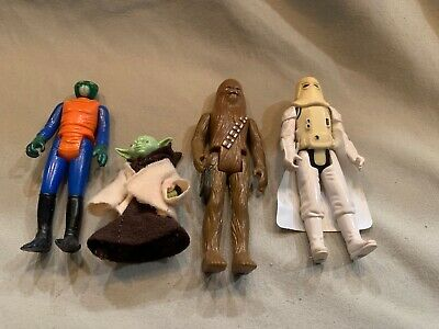 Four Different Old Star Wars Figures