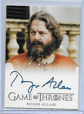 Game Of Thrones Season Seven Autograph Roger Allam As Magister Illyrio