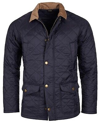 Barbour Men's Navy Canterdale Quilted Jacket MQU0759NY91