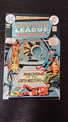1975 Dc Comics Justice League Of America #118 F/vf Flat Rate Shipping