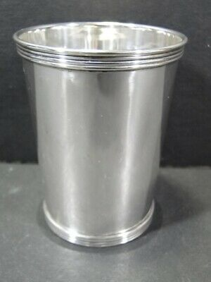 CARTIER Sterling Silver MINT JULEP CUP - No Mono - 10125 /3 #2 Goblet